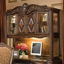 "Windsor Court 58.5"" H x 62"" W Desk Credenza Hutch"