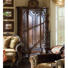 Essex Manor Armoire in Deep English Tea