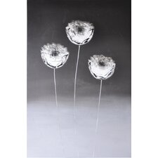 Three Flowers Wall Art