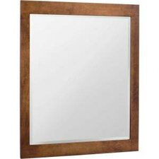 "Casual 35.5"" x 27.5"" Wall Mirror"
