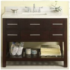 "Priva 42"" Open Bathroom Vanity Base"