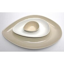 Skah Nested 3 Piece Serving Dish Set