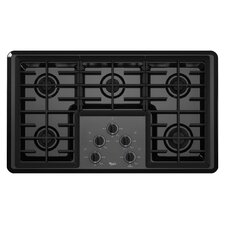 "36"" 12,500 BTU Power Burner Gas Cooktop"