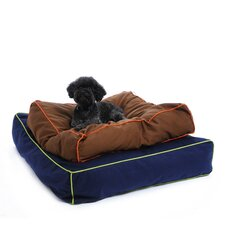 Colorblocker Square Dog Bed