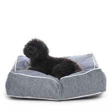 Engineer Stripe Square Pet Bed