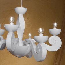 Botero 6 Light Chandelier
