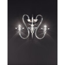 Babylon 3 Light Crystal Wall Sconce