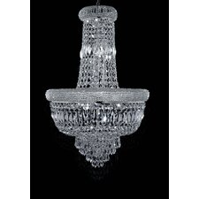 Beethoven Empire 9 Light Crystal Chandelier