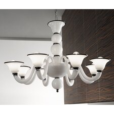 Canaletto 8 Light Chandelier