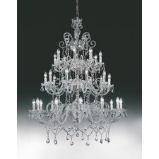 Erika 30 Light Crystal Chandelier