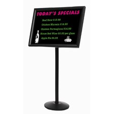 Dual Capability Neon Marker board and Menu or Poster Holder