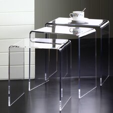 Pure Décor 3 Piece Nesting Tables Set