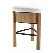 Bronzewood Fabric Medium Stool