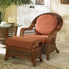 Montego Chair and Ottoman