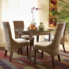 Martinique 5 Piece Dining Table Set