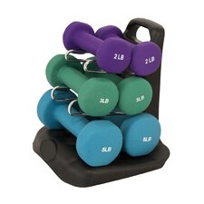 Dumbbell Set with Stand