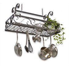 Decor Basket Hanging Pot Rack