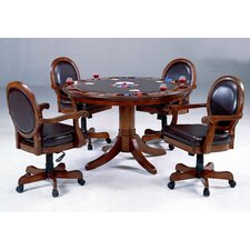 Warrington 5 Piece Game Table Set