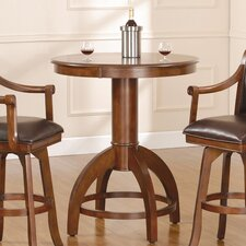 Palm Springs Bar Height Table in Medium Brown Cherry