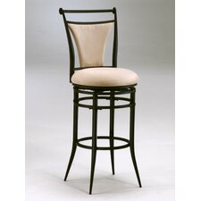 "Cierra 30"" Swivel Bar Stool - Fawn Fabric"