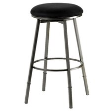 Sanders Adjustable Barstool in Black
