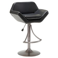 Valencia Adjustable Barstool in Black