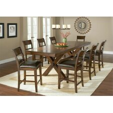 Park Avenue 9 Piece Counter Height Dining Set