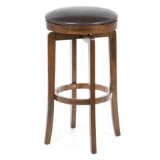 Brendan Backless Bar Stool in Brown Cherry