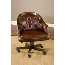 Harding Leather Game Chair