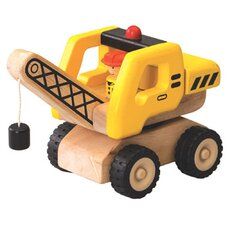 Mini Crane Wooden Vehicle