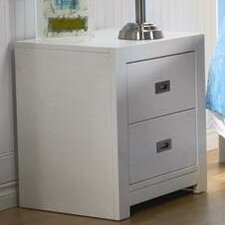 Novara 2 Drawer Nightstand