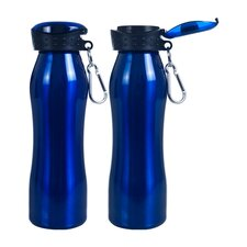 25 Oz Fliptop Water Bottle ( 2 Pack )