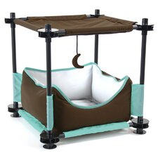 "17"" Sleeper Steel Cat Condo"