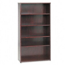 Veneer Bookcase with Beaded Edge Detail