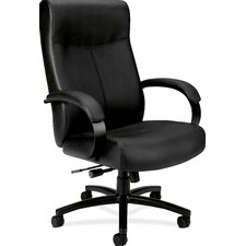 High-Back Leather Big and Tall Office Chair