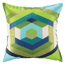 Hexagon Linen Pillow