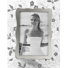 Ornate Frosted Glass Picture Frame