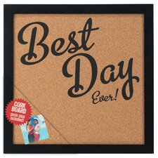Best Day Ever! Cork Board