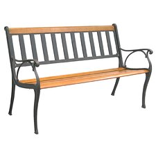 Mission Cast Iron Park Bench
