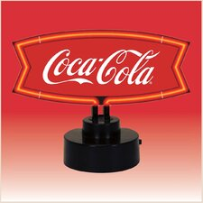 Coca-Cola Fishtail Neon Sculpture
