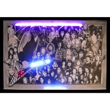 Bar and Game Room Heavy Metal Neon LED Poster