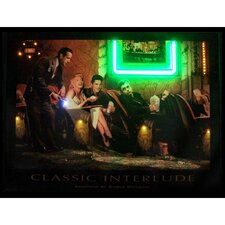 Classic Interlude Neon LED Poster Sign