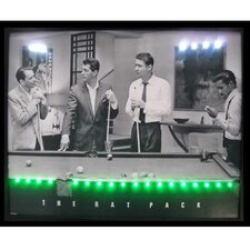 Rat Pack LED Lighted Print