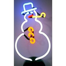 Business Signs Snowman Neon Sign