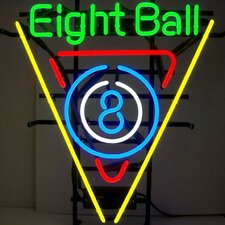 Business Signs 8 Ball Billiards Neon Sign