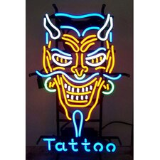 Business Signs Devil Tattoo Neon Sign