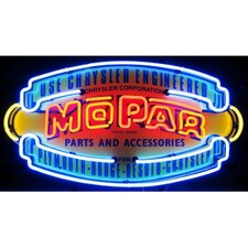Car & Motorcycles Mopar Vintage Shield Neon Sign