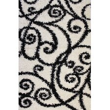 Madison Shag Black Fiji Rug