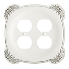 Arboresque Double Duplex Wall Plate
