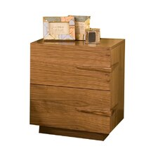 Sideways 2 Drawer Nightstand